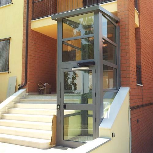 Plataforma vertical a28 valencia for Salvaescaleras vertical